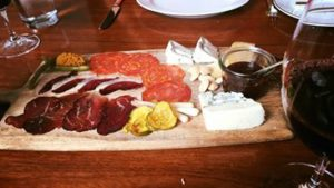 personalized cheese & charcuterie plate