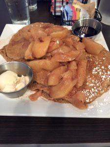 apple wheat pancakes