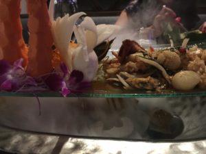 Angry Ocean- signature dish